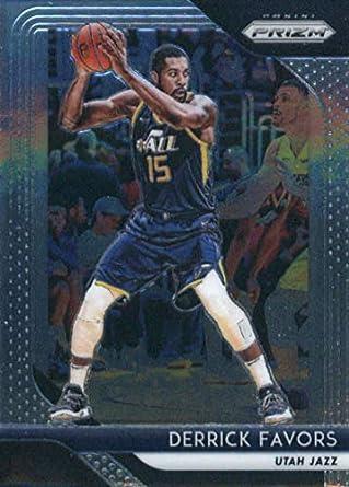 f4a0e9839abc1 Amazon.com: 2018-19 Prizm Basketball #173 Derrick Favors Utah Jazz ...