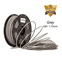 DAZZLE LIGHT 3D Printer ABS Filament 1.75mm Dimensional Accuracy +/- 0.02 mm 2.2 LBS (1KG) Spool … from DAZZLE LIGHT