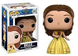 Funko Pop: Beauty & the Beast Complete Bundle Set of 6 Including Belle, Beast, Lumiere, Cogsworth, Mrs. Potts & Chip, and Belle (Celebration)