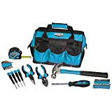 Viper Tool Storage V30TBKTL Tool Bag and 30-Piece Tool Set, 12-Inch, Teal