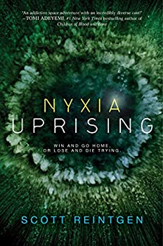Nyxia Uprising by Scott Reintgen science fiction and fantasy book and audiobook reviews