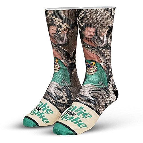Odd Sox x WWE Men's Jake The Snake Roberts Socks Multi by Odd Sox