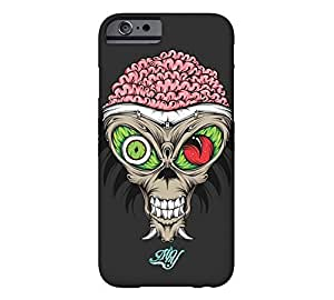 Alien Skull iPhone 5s Eerie black Barely There Phone Case - Design By FSKcase?