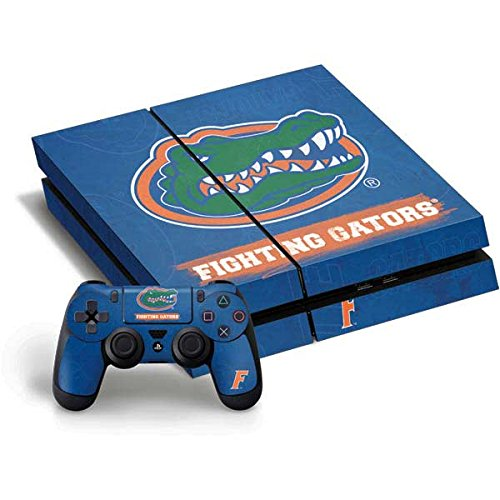University of Florida PS4 Horizontal Bundle Skin - Florida Gators Vinyl Decal Skin For Your PS4 Horizontal Bundle - Florida Gators Vinyl Skin