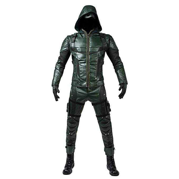 Amazon.com: CosFantasy Temporada 5 Oliver Queen Cosplay ...