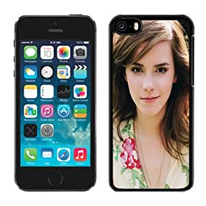 Beautiful Custom Designed Cover Case For iPhone 5C With Emma Watson Sweet1 Phone Case hjbrhga1544