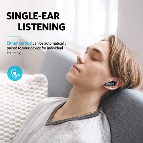 EarA laugh Air Pro Wireless Earbuds, Hybrid Active Noise Cancelling, Bluetooth 5.0 Earbuds with 6 Mics ENC, Stereo Deep Bass, 32H Play Time with USB-C Charge, in-Ear Detection Headphones IPX5 Waterproof