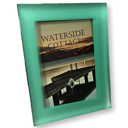 Concepts 4X6 Frosted Green 12mm Glass Picture Frame