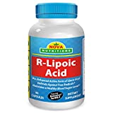 R-Lipoic Acid 100 mg 60 Capsules by Nova Nutritions