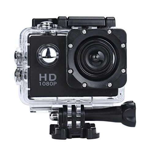 XUANOU Mini Sports Camera 1080P Full HD Waterproof Camcorder For Outdoor(Black)