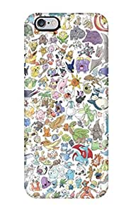 Waterdrop Snap-on Pokemon Case For Iphone 6 Plus