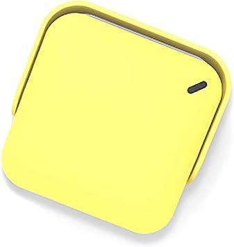 Opinión sobre Mini proyector portátil 1080P Full HD proyector profesional de cine para el hogar y al aire libre amarillo
