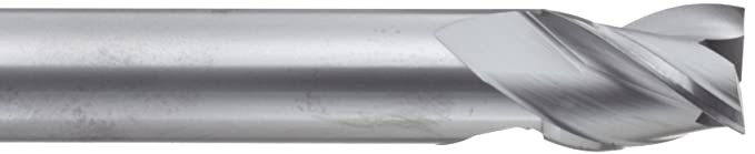 4 Overall Length Bright 30 Deg Helix 0.4375 Shank Diameter Uncoated 0.4375 Cutting Diameter 2 Flutes Long Reach Finish YG-1 E5011 Carbide Square Nose End Mill
