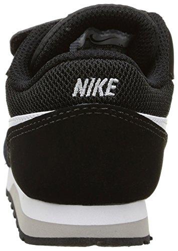 Nike MD Runner 2 (TDV) - Zapatillas infantil Negro (Black / White / Wolf Grey)