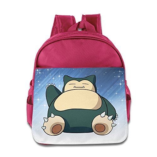 ELF STORY - Hog Snorlax Little Kid Baby Boys Girls Toddler Backpack Bag Pink