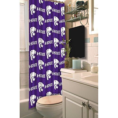 Northwest NCAA Kansas State Wildcats Shower Curtain