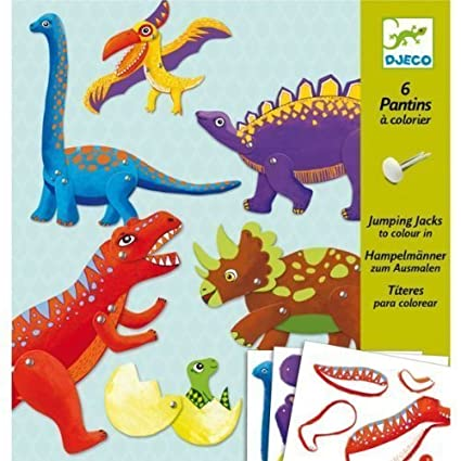 Amazon Dinosaur Puppet Paper Craft Kit By Papo Toys Games