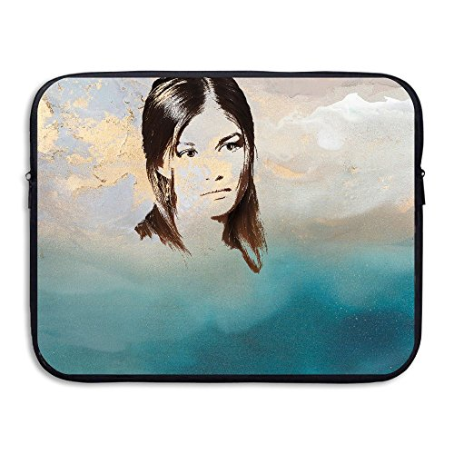 Anyiquliq Cool Girl 13&15 Inch Large Capacity Fashionable Computer Bladder Bag Laptop Sleeves
