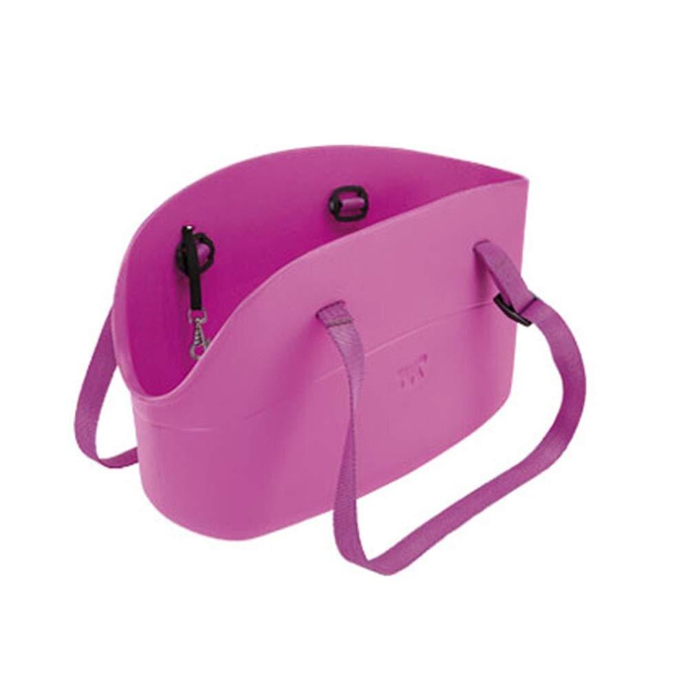 F 35X21X20CM F 35X21X20CM Byx- Pet Bag Pet Out Carrying Bag Dog Bag Bag Cat Bag Travel Bag Fashion BackpackPet Backpack (color   F, Size   35X21X20CM)