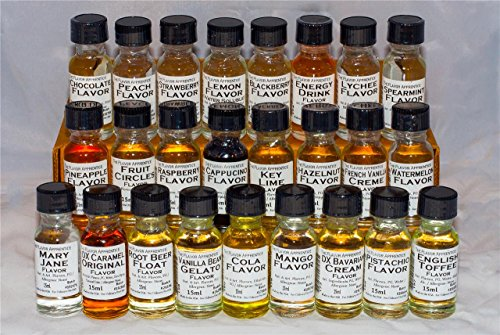 Cranberry Flavoring Extracts by The Flavor Apprentice (0.5 oz/15 ml) for Baking & Cosmetics: Hard Candy, Cakes, Gummies, Chocolate, Marshmallows, Caramels, Fudges, Taffies, Ice Cream, and more 15ml