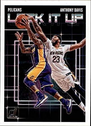 f2f8672dea29 2018-19 Donruss Lock it Up  5 Anthony Davis New Orleans Pelicans NBA  Basketball