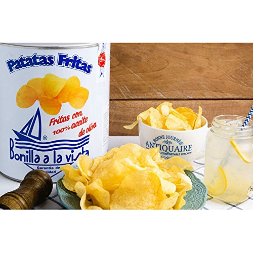 Bonilla a la Vista Snack Potato Chips Since 1932 Made in Spain, 500g by Bonilla (Image #4)