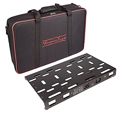 Voodoo Lab Dingbat Medium Pedalboard with Pedal Power 2 PLUS Power Supply & Bag - Voodoo Labs Cables