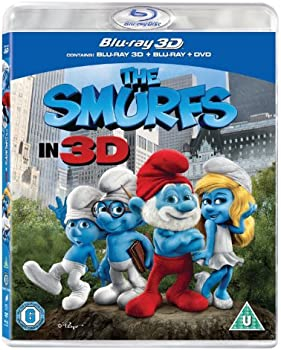 The Smurfs in Blu-ray 3D