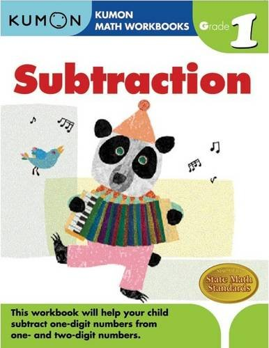 Grade 1 Subtraction (Kumon Math Workbooks): Kumon Publishing ...