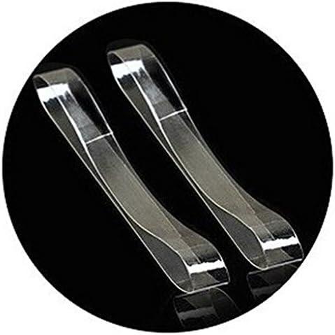 ルーズシューズ 靴ひも ハイヒール用 シューズストラップ 透明 クリア 3ペア