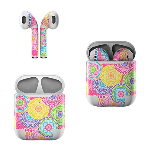 - Skin Decals for Apple AirPods - Kyoto Springtime - Sticker Wrap Fits 1st and 2nd Generation