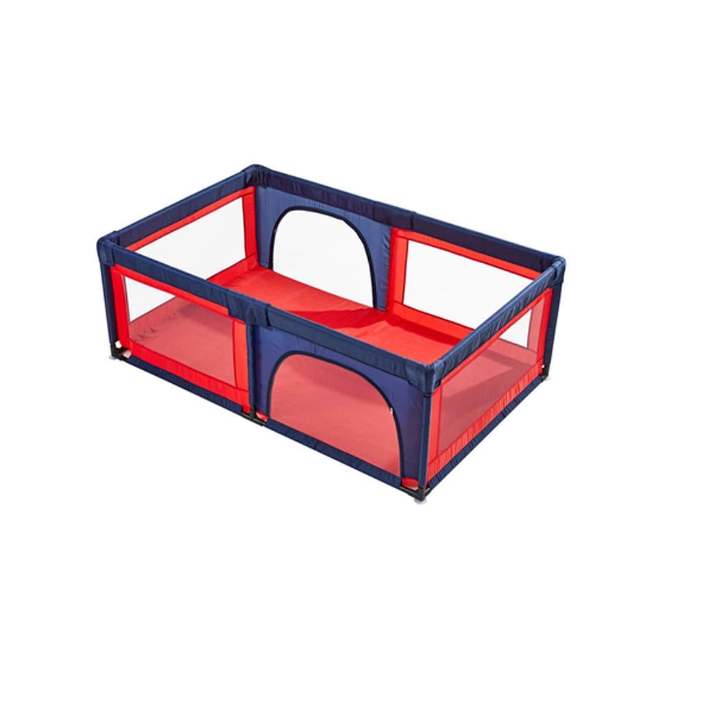 JSSFQK 子供の遊びのフェンス屋内の家庭の赤ちゃんの幼児のフェンス赤ちゃんの安全クロールマットアンチフォールズフェンス 保護フェンス (サイズ さいず : 1.2m×1.2m) 1.2m×1.2m  B07MK1Z86K