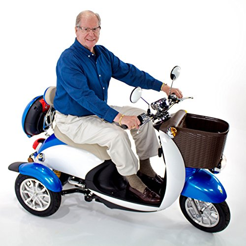 EW-11 Sport Scooter Euro Style Design Blue Scooter Store