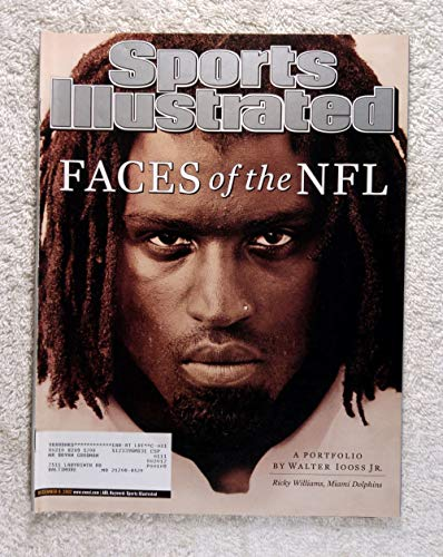 Ricky Williams - Miami Dolphins - Faces of the NFL - A Portfolio by Walter Iooss Jr - Sports Illustrated - December 9, 2002 - SI ()