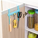 1 Set Hone Washroom Door Non-trace Free Nail Hook Rack Hooks Kitchen Multi-Function Hanging Storage Holders Accessories Tool