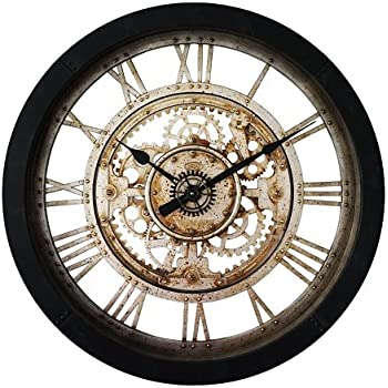 KAWEAZ 60CM Large Wall Clock Saat Reloj Clock Duvar Saati Relogio De Parede Horloge Murale Reloj De Pared Watch Klok Living Room Decor