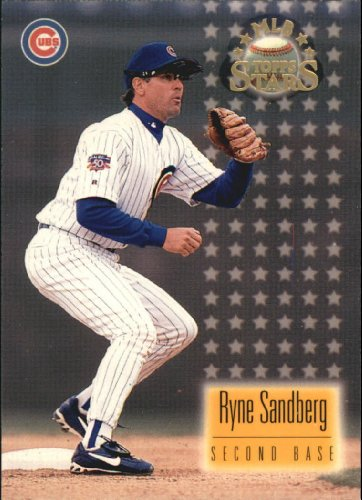 1997 Topps Stars Baseball Card #59 Ryne Sandberg (Ryne Sandberg Card)