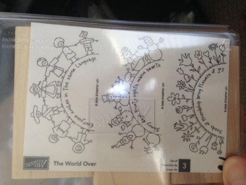 Stampin' up the World Over Unmounted