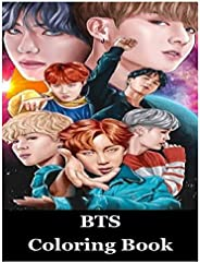 Bts Coloring Book: A Fantastic Bts Coloring Book For Kids, Adults and Lovers of KPOP and ARMY