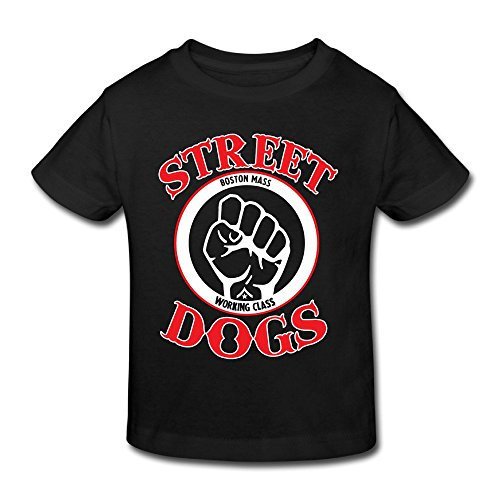 [Street Dogs American Punk Rock Band Kid's Tee Durability Little Boys/Girls Political Shirts] (Little Girl Gypsy Costumes)