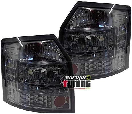 03667 europetuning 03667 FEUX ARRIERES FUMES A LED A4 B6 8E AVANT//BREAK 2001-2004