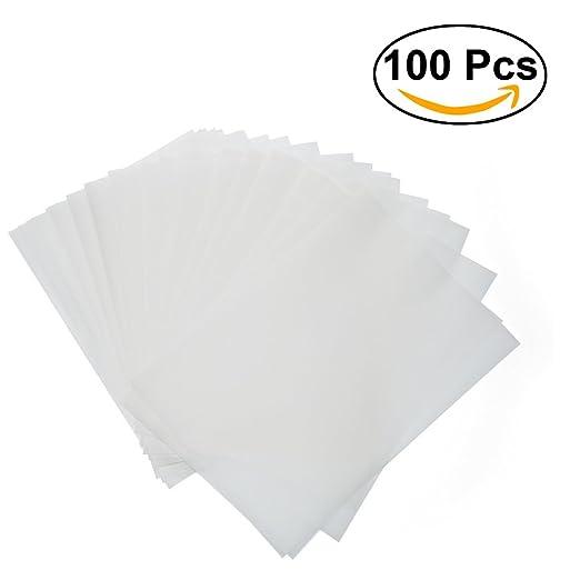 rosenice A4 Papel de brillantes hojas de papel transparente para ...