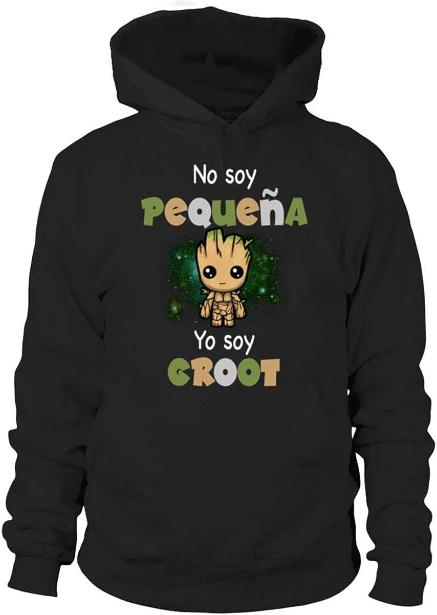 Yo Soy Groot Closset Sudadera con Capucha Mujer