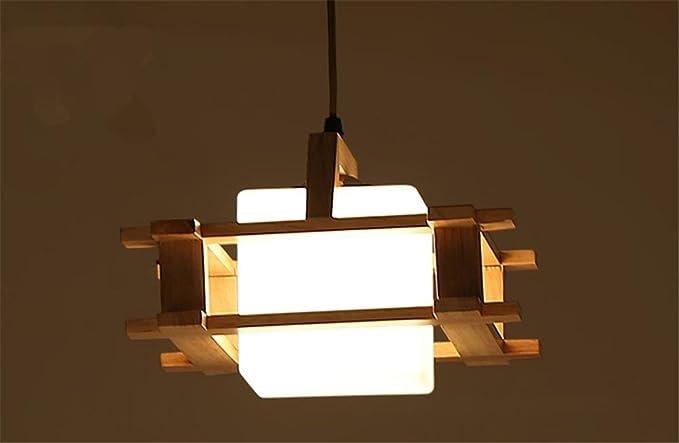 H&m lampade a sospensione lampadario lampadario in legno solido del