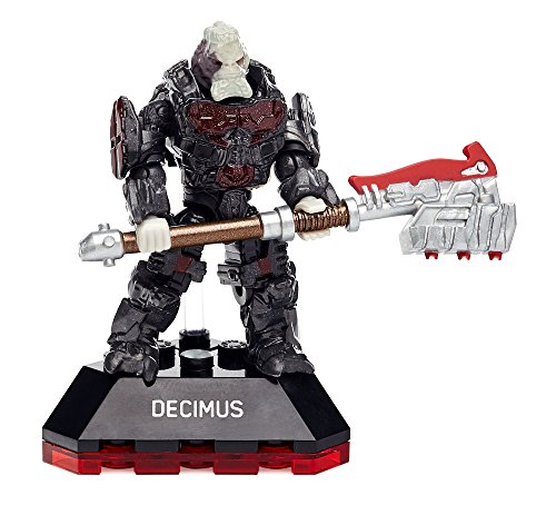 Mega Construx Halo Heroes Series 4 Decimus Figure (Halo 4 Best Weapon)
