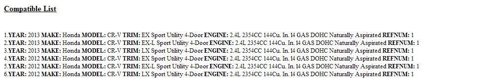 Genuine Honda 45251-T0H-A00 Disc Brake Front