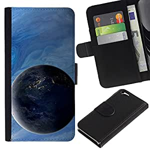 UNIQCASE - Apple Iphone 6 4.7 - Space Planet Galaxy Stars 4 - Cuero PU Delgado caso cubierta Shell Armor Funda Case Cover