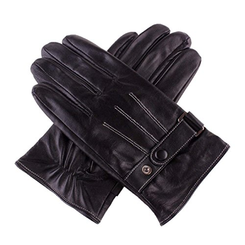 CWJ Gloves Touch Screen Male Fashion Practical,Black,Large by CWJ