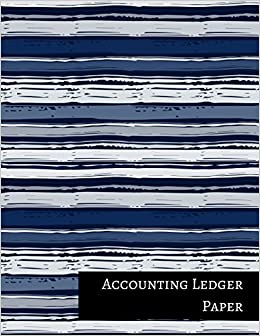 amazon accounting ledger paper three columnar format insignia