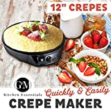 Crepe Maker Machine Pancake Griddle – Nonstick